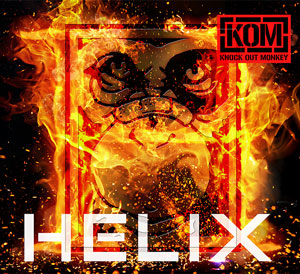 KNOCK OUT MONKEY 3rdアルバム「HELIX」