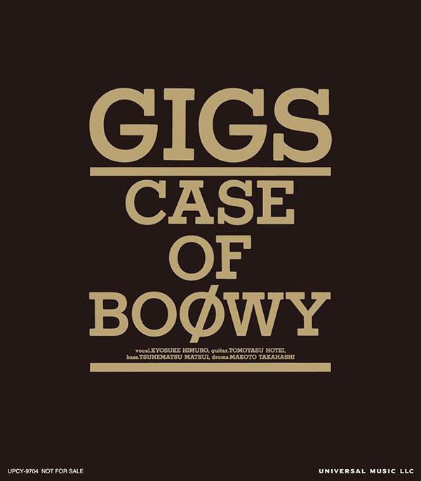 BOØWY 35周年作品「GIGS」封入特典ステッカー