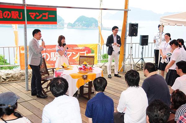 SKE48・大場美奈、宮崎県マンゴー町の1日町長に就任4