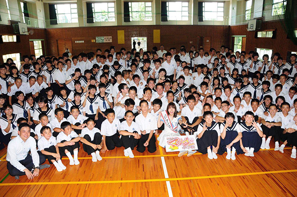 SKE48・大場美奈、宮崎県マンゴー町の1日町長に就任5