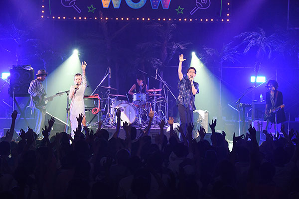 RIP SLYME主催「真夏のWOW」Awesome City Club