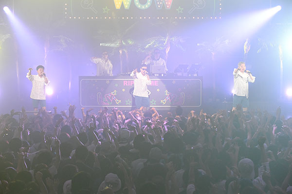 RIP SLYME主催「真夏のWOW」RIP SLYME DAY1