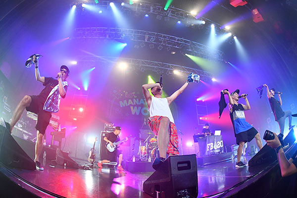 RIP SLYME主催「真夏のWOW」FIRE BALL with HOME GROWN