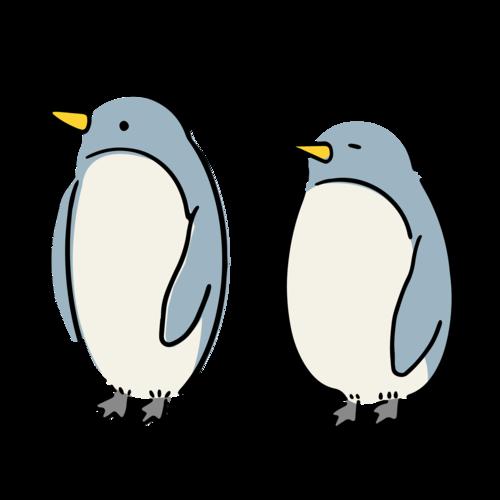 気になって寝れないペンギンたん