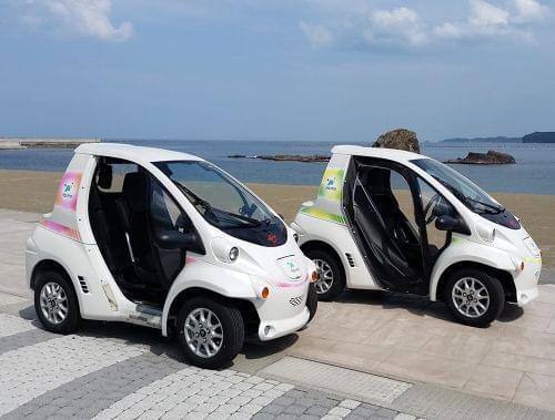 1名用の超小型電気自動車です
