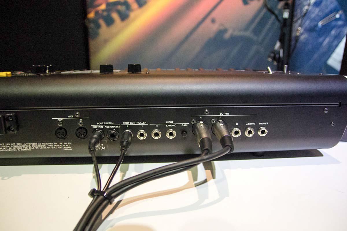YAMAHAステージピアノの新製品 CP88を現地でキャッチ
