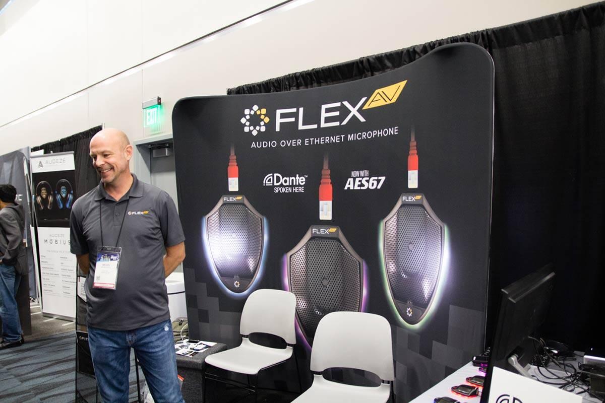 FLEX AVブース NAMMショー 2019