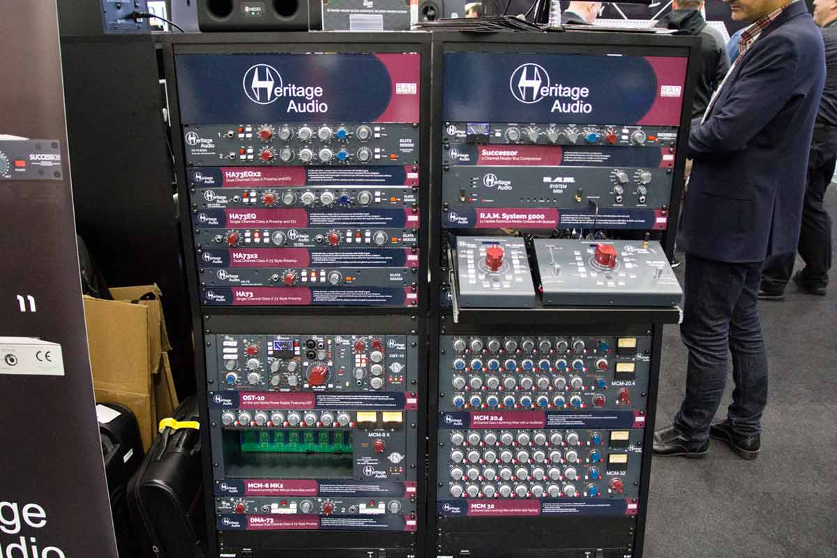 Heritage Audio ラインナップ NAMMショー 2019
