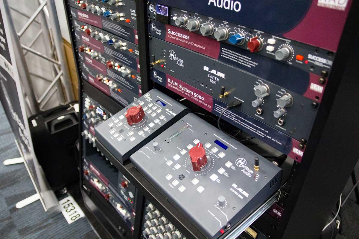 Heritage Audio SYSTEM 5000 NAMMショー 2019