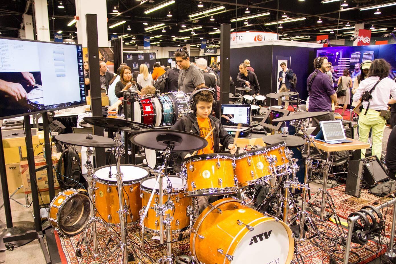 ATVのドラム