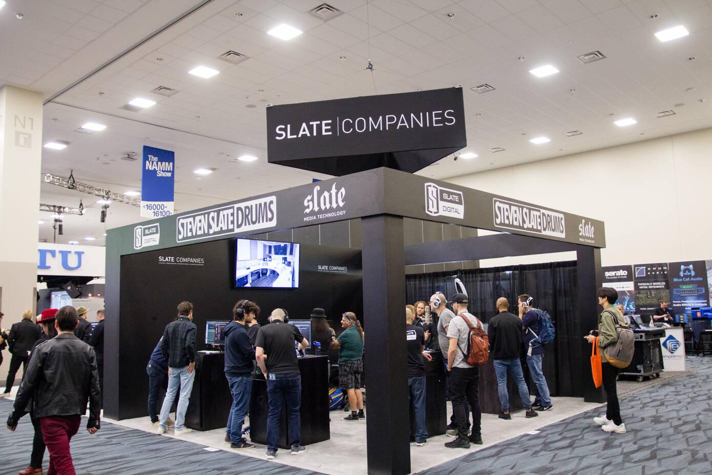 Slate Digitalブース