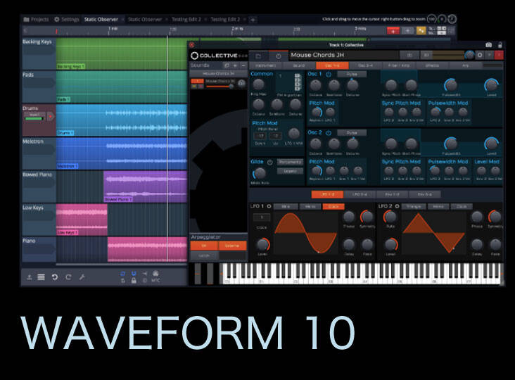 Tracktion Waveform バージョン10の新機能 | Rock oN Company