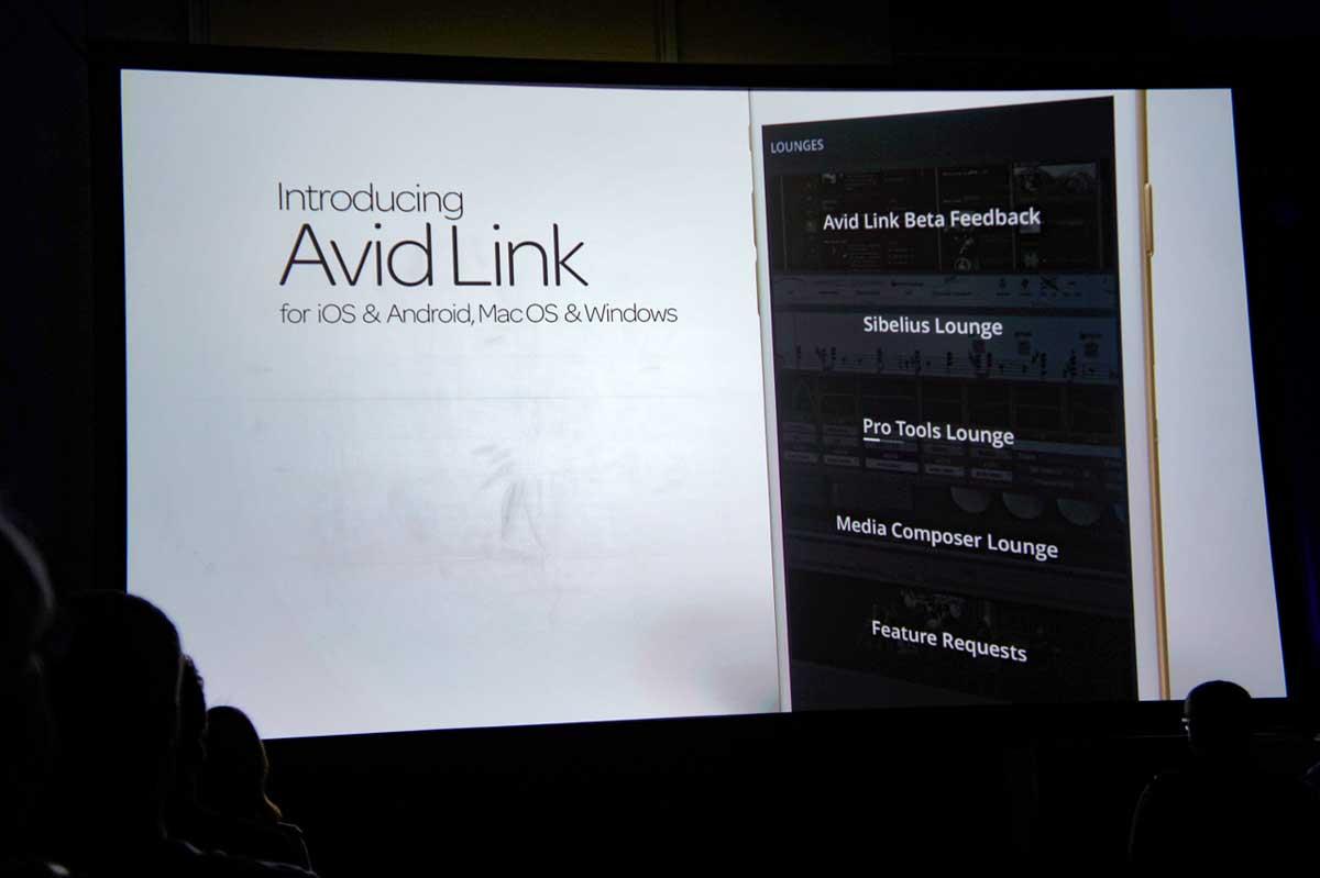 最初の発表はこちらのAvid Link。
