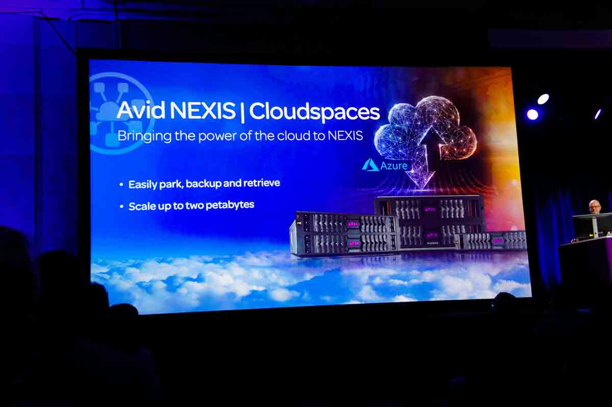 AVID | NEXIS Cloudspaces