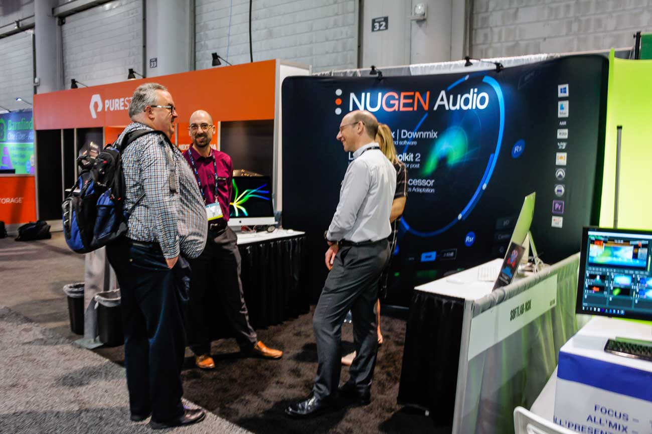 nab2019 NUGEN Audio booth