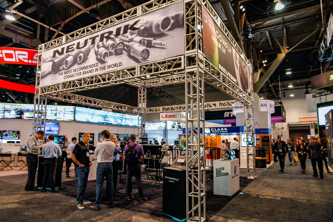 nab2019 neutrik booth