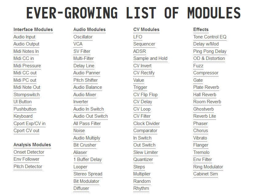 module-list