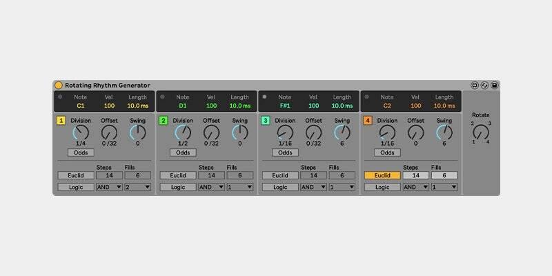 Rotating Rhythm Generator