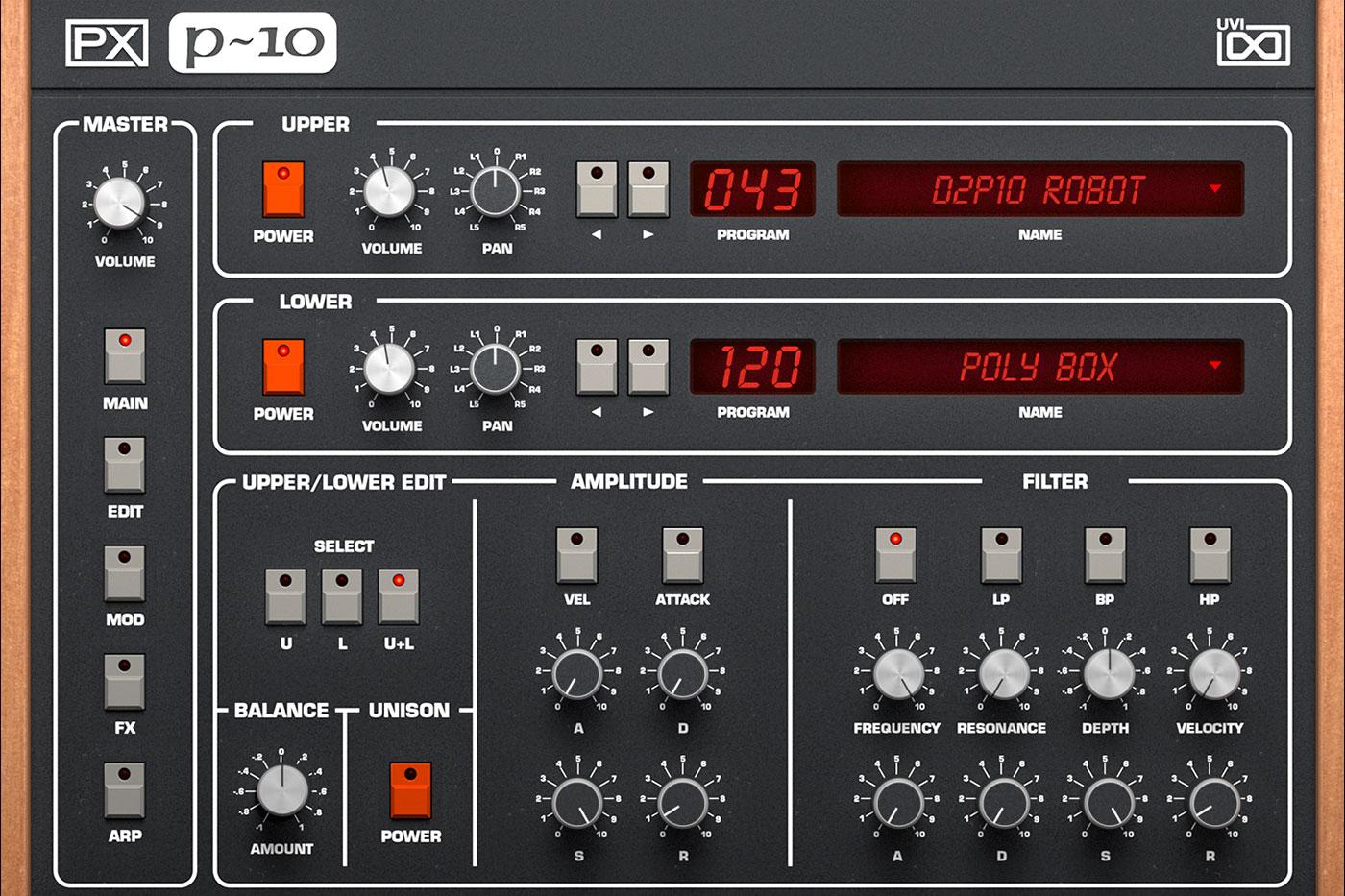 PX-P10_GUI_Main