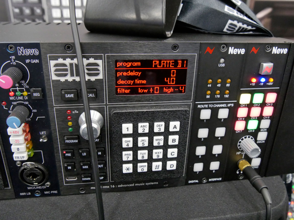AMS Neve RMX16 Rock oN NAMM2020