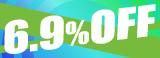 6.9%OFF!!