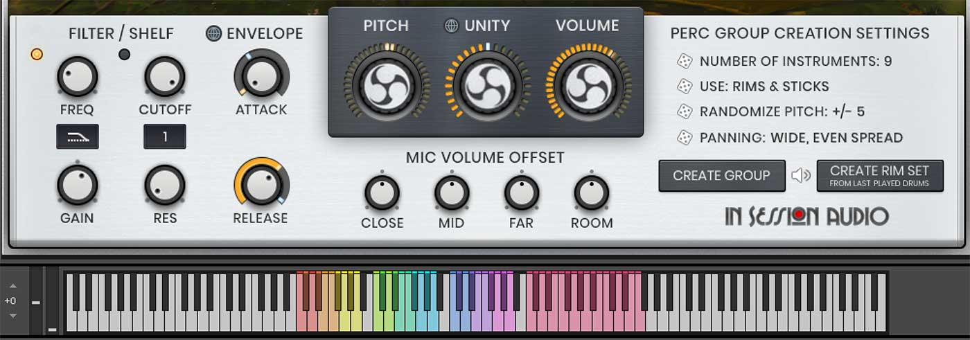 percussion-control