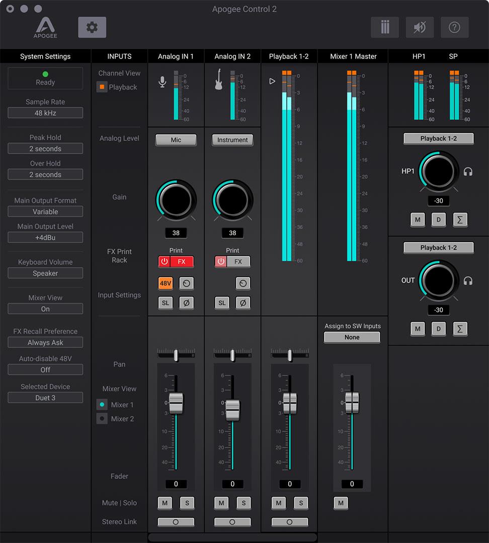 Apogee-Duet-3-Apogee-Control-Software