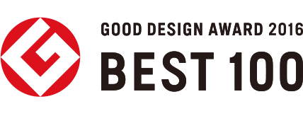 GOOD DESIGN AWARD 2016 BEST 100