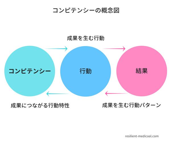 コンピテンシーの概念図