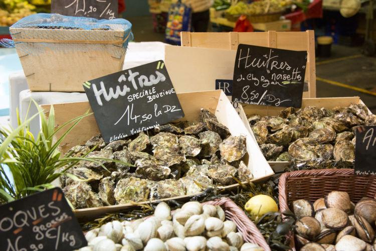 市場で食材を見るだけでも、その国の文化を感じられる