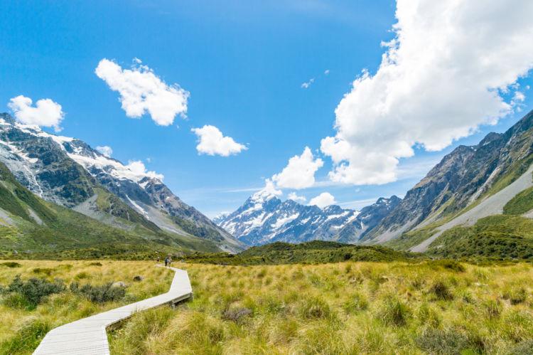 圧倒的な大自然が広がるニュージーランドは、幅広い世代に人気の渡航先