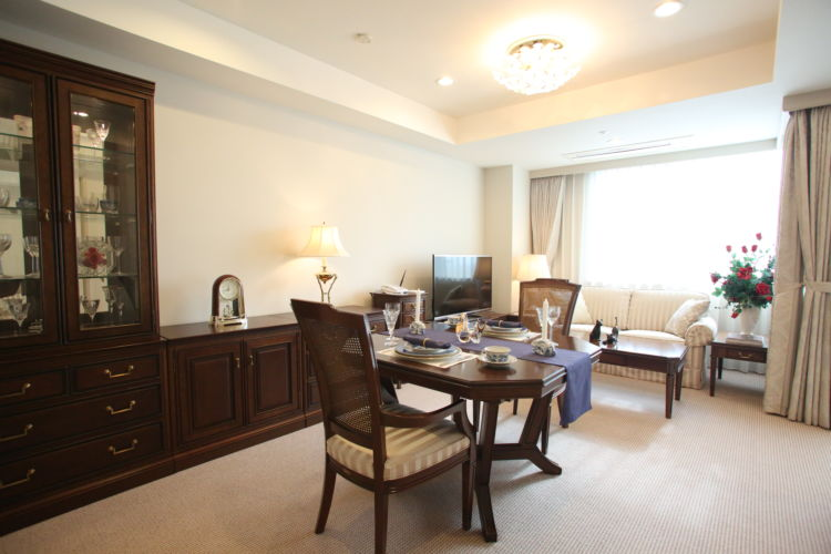 15タイプの居室は約50~150㎡。 共用施設にも細部までのこだわり