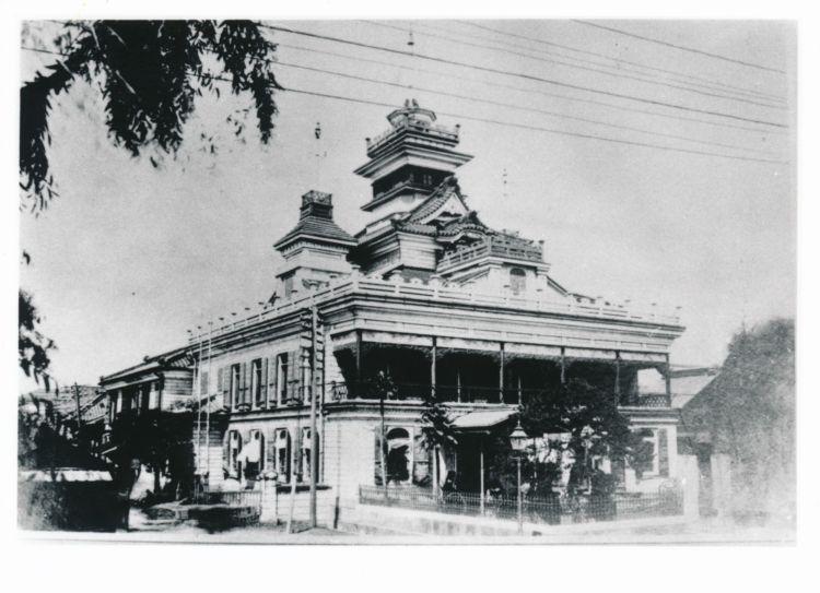 日本最古の銀行で、みずほ銀行の源流にある明治30年頃の第一国立銀行(渋沢史料館所蔵)