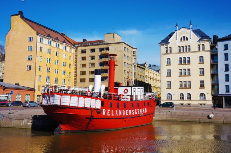 フィンランドの美しい港町ヘルシンキ