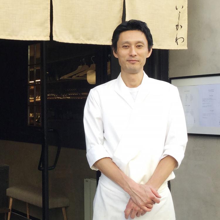 石川雄午さん(日本料理店「Restaurant ISHIKAWA」オーナー・料理長)