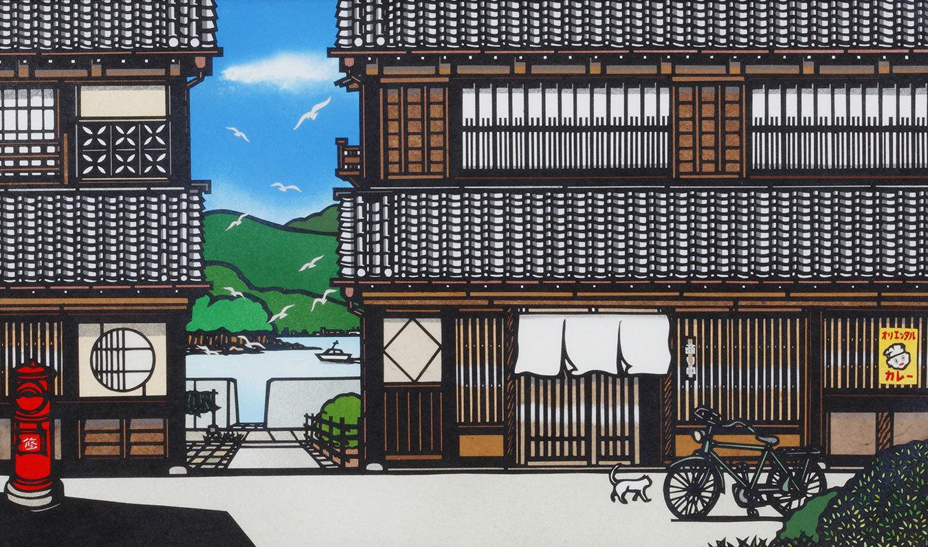 日本の美を未来へ~切り絵画家・久保 修の挑戦