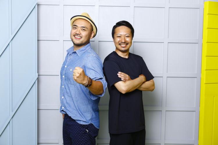 ケニーさん(左)、トモさん(右)