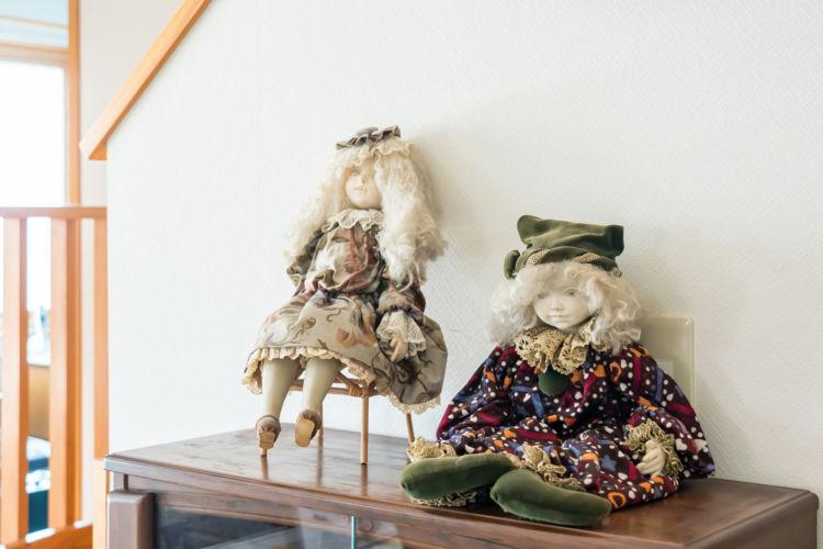 50代の頃に、繁野さんが制作した人形