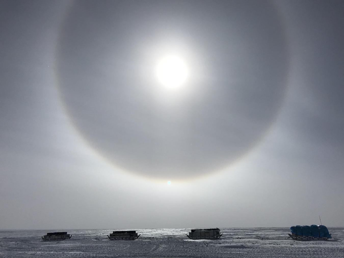 「自分の心臓の音が聞こえる」南極へ行きたかった