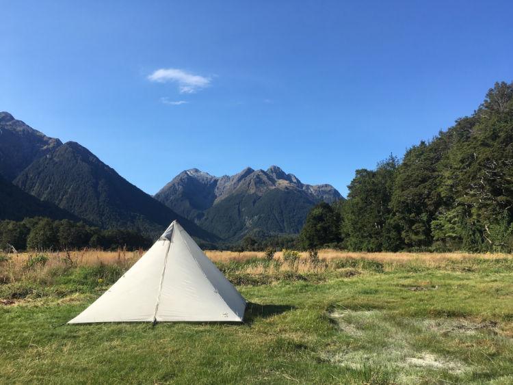 初めてソロキャンプに行ったときの達成感