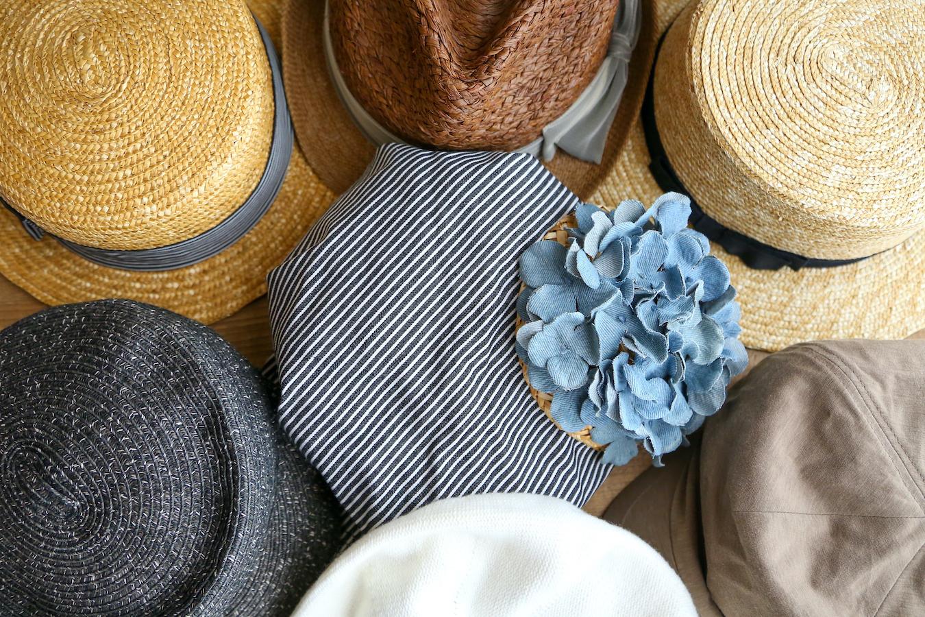 KaEriさんの春夏用のお気に入り帽子コレクション