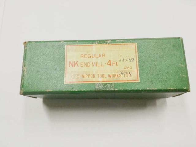日立ツール ハイス4枚刃エンドミル 4NKR 44X42_画像1