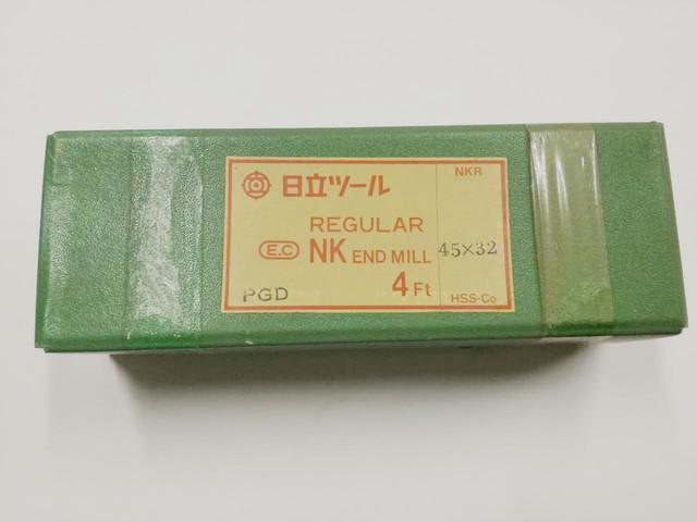 日立ツール ハイス4枚刃エンドミル 4NKR 45X32_画像1