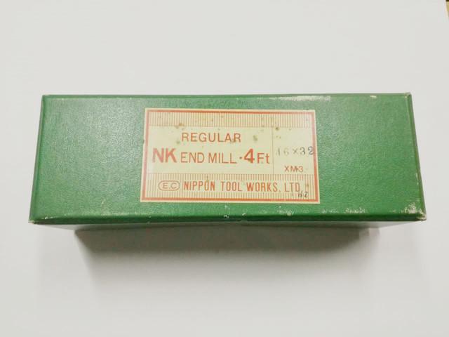日立ツール ハイス4枚刃エンドミル 4NKR 46X32_画像1