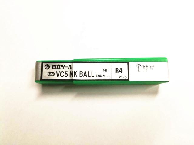 日立ツール NK ボールエンドミル NB 4R_画像1