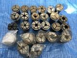 理研精機 旋盤用コレット1山セット A133812 C棟6F2-3