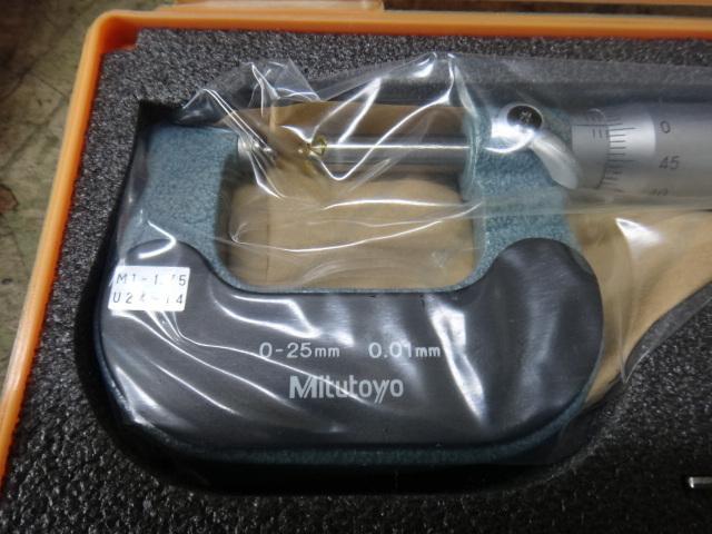 固定式ネジマイクロメーター ミツトヨ TMS-25/M3_画像2