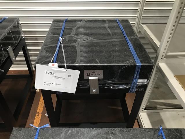 精密石定盤+専用架台 600x600mm_画像1