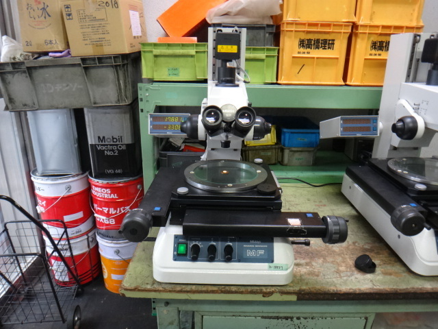 測定顕微鏡 ミツトヨ MF_画像1