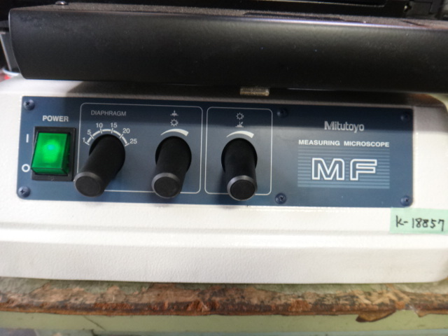 測定顕微鏡 ミツトヨ MF_画像2